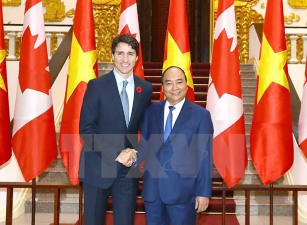 La presse canadienne couvre la visite du Premier ministre Justin Trudeau au Vietnam hinh anh 2
