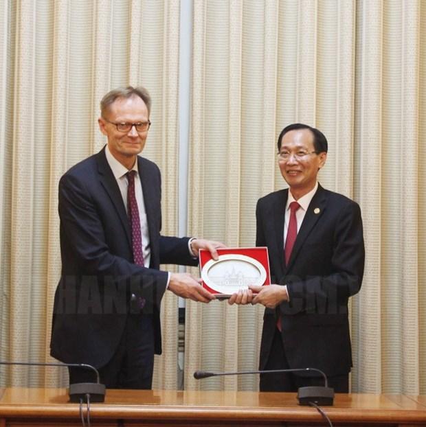 HCM-Ville coopere avec la Finlande dans la gestion des ressources en eau et l'innovation hinh anh 1