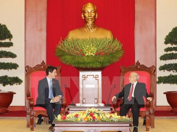 La presse canadienne couvre la visite du Premier ministre Justin Trudeau au Vietnam hinh anh 1