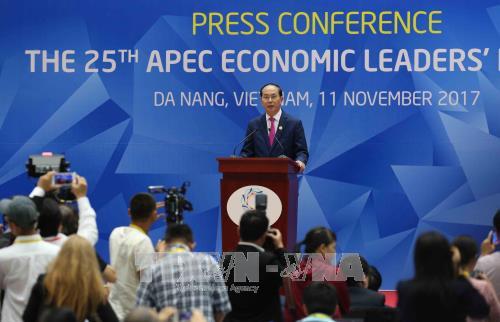 APEC 2017 : adoption de la Declaration de Da Nang hinh anh 1