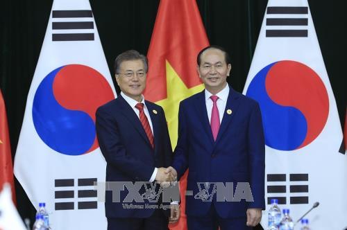 Vietnam et R. de Coree continuent de promouvoir le partenariat de cooperation strategique hinh anh 1