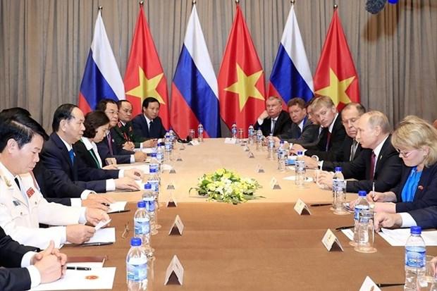 Declaration conjointe Vietnam-Russie sur la garantie de la securite de l'information internationale hinh anh 2