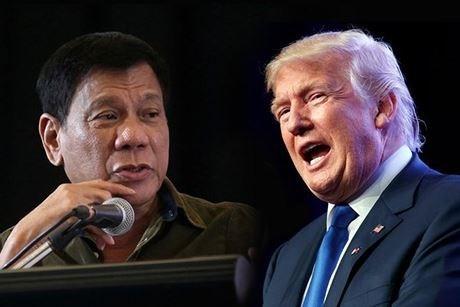 APEC 2017 : Premiere rencontre entre Donald Trump et Rodrigo Duterte hinh anh 1