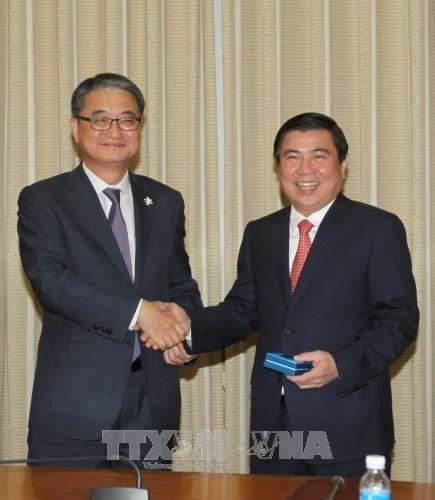 HCM-Ville veut renforcer la cooperation avec les localites sud-coreennes hinh anh 1