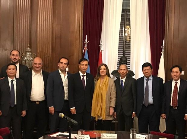 Renforcement de la cooperation entre Hanoi et les villes du Bresil, d'Argentine et du Chili hinh anh 1