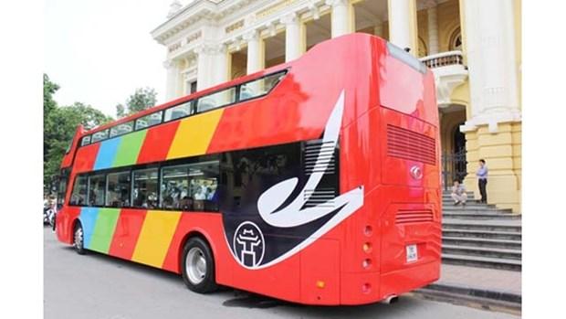 Ouverture des lignes de bus a deux etages pour les touristes a Hanoi hinh anh 1
