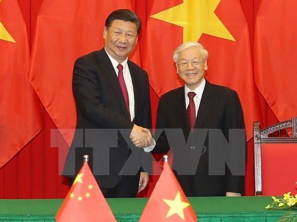 Declaration commune Vietnam-Chine hinh anh 1