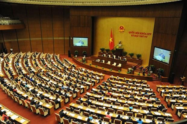 4eme semaine de travail de la 4eme session de la 14eme legislature de l'AN hinh anh 1