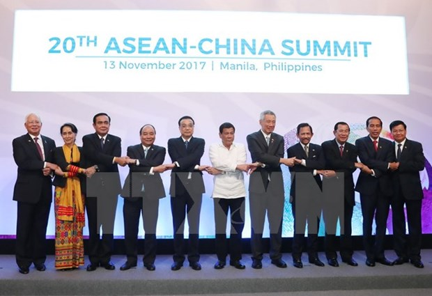 ASEAN et Chine s'engagent a proteger l'environnement en Mer Orientale hinh anh 1