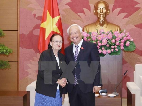 Vietnam-Cambodge : renforcement de la cooperation entre les organes legislatifs hinh anh 1