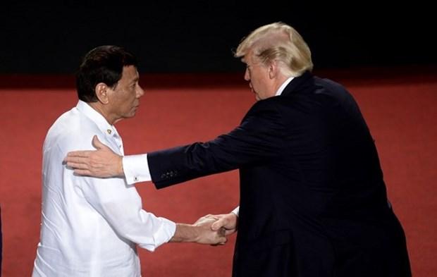 Les Etats-Unis et les Philippines soulignent la liberte de navigation en Mer Orientale hinh anh 1