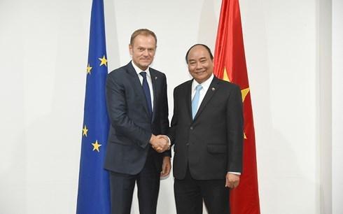 Renforcement des relations avec l'ONU et l'UE hinh anh 2