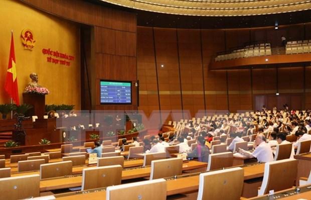 L'AN adopte une resolution sur la reparation du budget d'Etat pour 2018 hinh anh 1