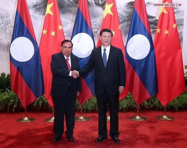 Laos et Chine renforcent les relations de cooperation bilaterale hinh anh 1