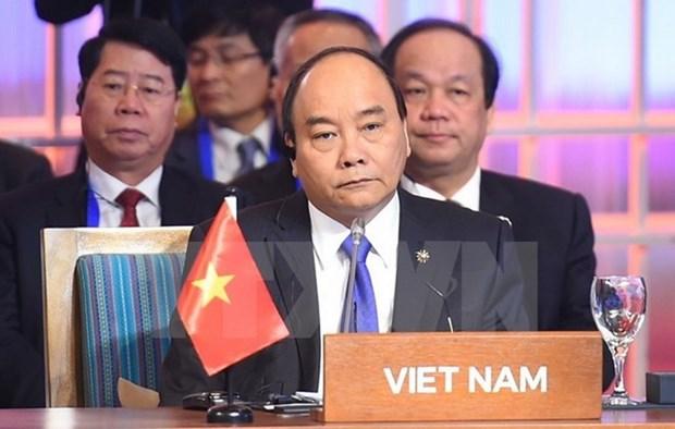 Le PM participe aux dernieres activites du 31e Sommet de l'ASEAN hinh anh 1