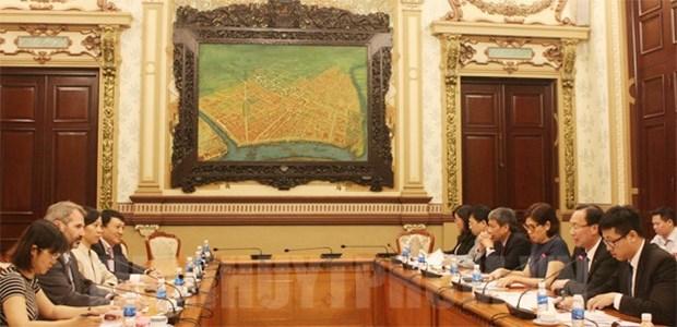Ho Chi Minh-Ville intensifie la cooperation avec la Societe financiere internationale hinh anh 1