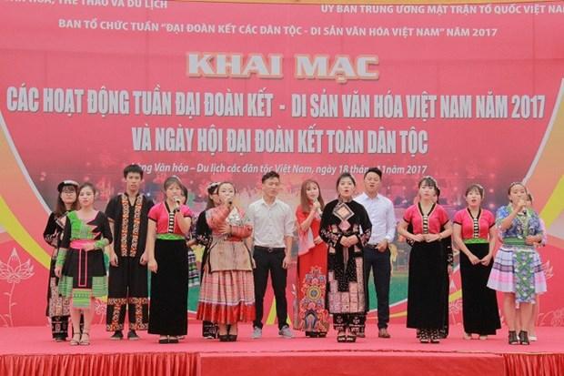 Ouverture de la Semaine «Solidarite des ethnies - Patrimoines culturels du Vietnam» hinh anh 1