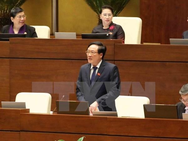 Les legislateurs interrogent le PM et le president de la Cour populaire supreme hinh anh 1