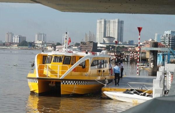 Ho Chi Minh-Ville : la 1ere ligne de bateaux-bus sera operationnelle le 25 novembre hinh anh 1