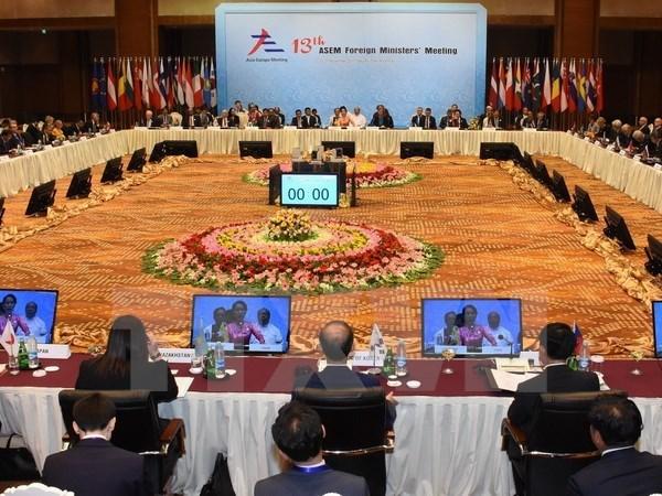 Ouverture de la 13e Conference ministerielle de l'ASEM hinh anh 1