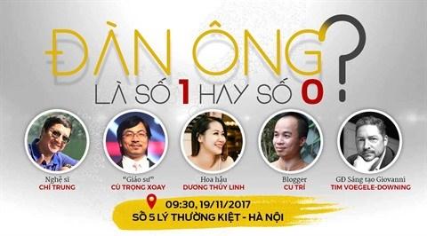 Conference «L'homme : numero 1 ou numero 0 ?» a Hanoi hinh anh 1