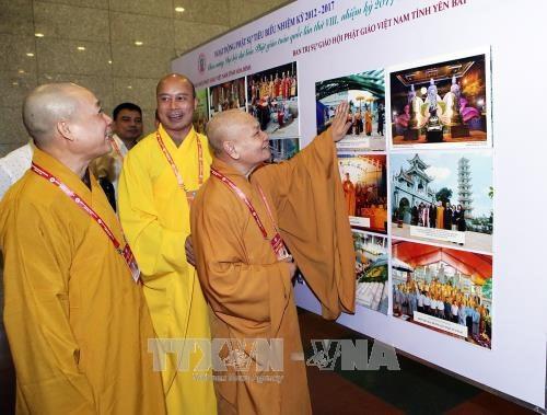 Vernissage de l'exposition sur les acquis du bouddhisme vietnamien hinh anh 1