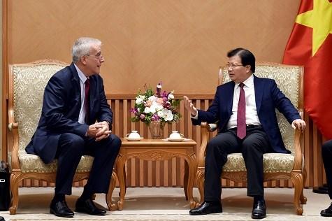 Le Vietnam salue les investissements de Vision Transportation Group dans les infrastructures hinh anh 1