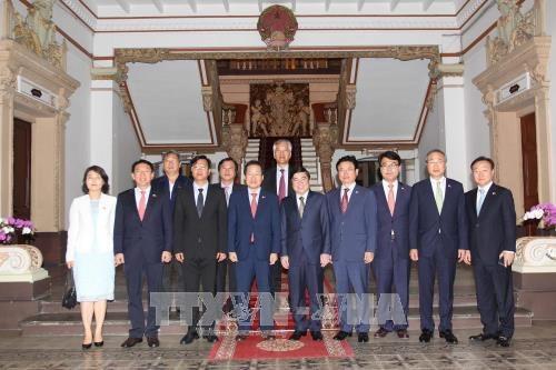 Le president du Parti de la liberte de Coree a Ho Chi Minh-Ville hinh anh 1