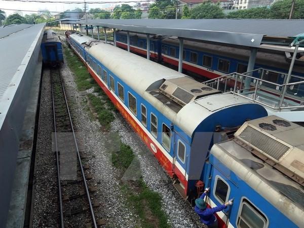 Inauguration d'une ligne de transport ferroviaire entre Hanoi et Jiangxi hinh anh 1