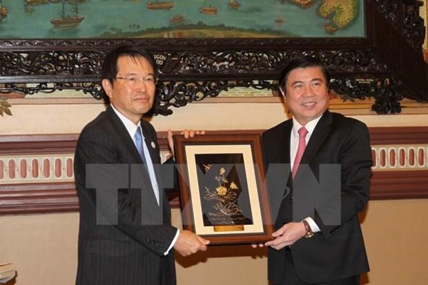 Ho Chi Minh-Ville-Osaka : promotion des echanges economiques hinh anh 1