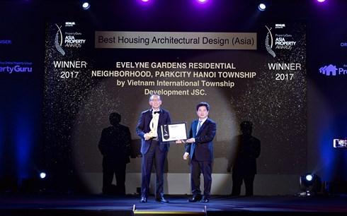 ParkCity Hanoi honore au Prix de la propriete asiatique hinh anh 1