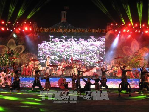 Ha Giang : ouverture de la fete des fleurs de sarrasin 2017 hinh anh 1