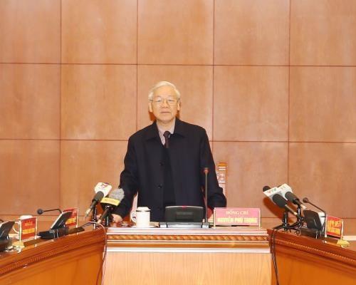 Nguyen Phu Trong demande d'accelerer la lutte contre la corruption hinh anh 1