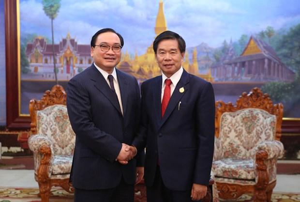 Hanoi et Vientiane veulent renforcer leurs relations hinh anh 1