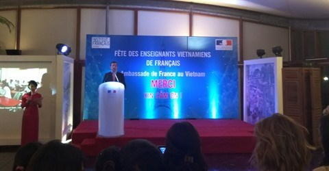 Fete des enseignants vietnamiens de francais a Hanoi hinh anh 1