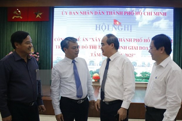 Publication du projet visant a faire de Ho Chi Minh-Ville un centre urbain intelligent hinh anh 1