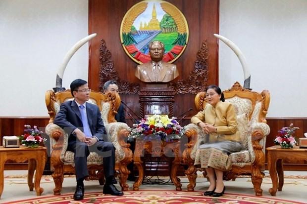 Le Vietnam et le Laos renforcent leur cooperation dans la justice hinh anh 1