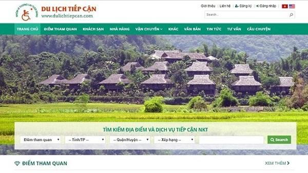 Lancement d'un site web touristique reserve aux personnes handicapees hinh anh 1