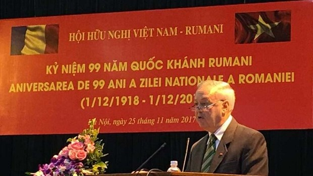 Rencontre d'amitie Vietnam - Roumanie hinh anh 1