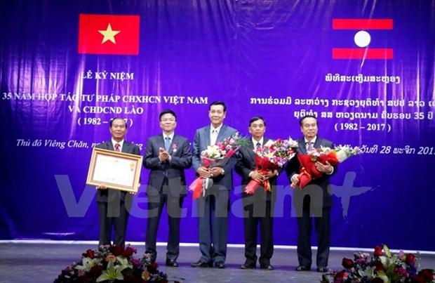 Developpement de la cooperation judiciaire Vietnam-Laos hinh anh 2