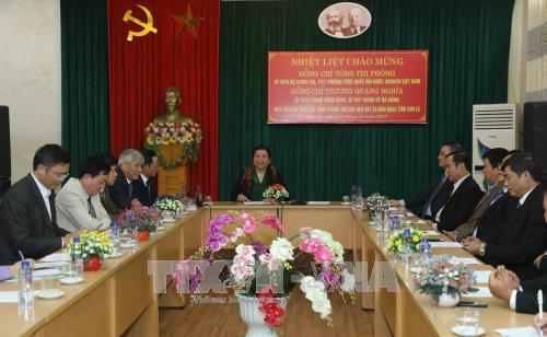 Des dirigeants vietnamiens multiplient les rencontres avec les electeurs hinh anh 1