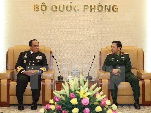 Les marins vietnamiens et indonesiens approfondissent leur cooperation hinh anh 1