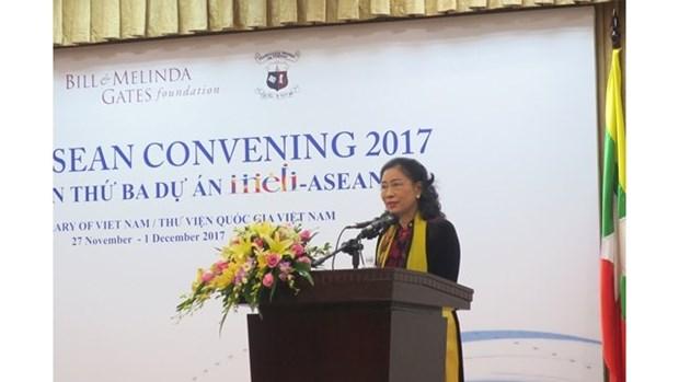 Ouverture de la 3e conference consacree au projet INELI-ASEAN a Hanoi hinh anh 1