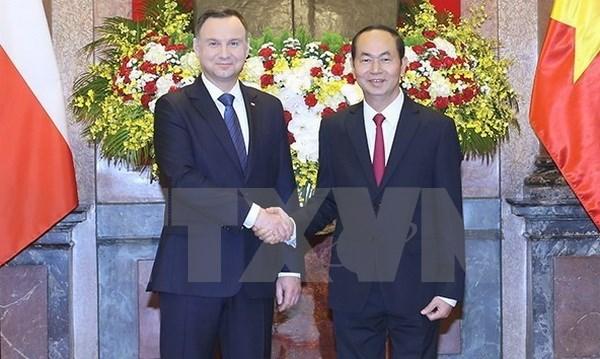 Declaration commune Vietnam – Pologne hinh anh 1