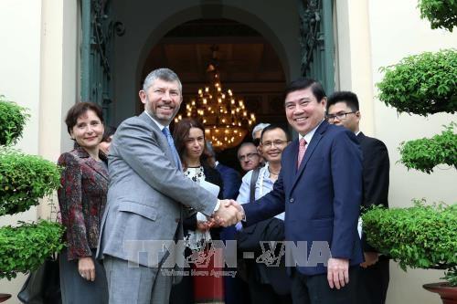 Ho Chi Minh-Ville veut cooperer avec les entreprises italiennes hinh anh 1