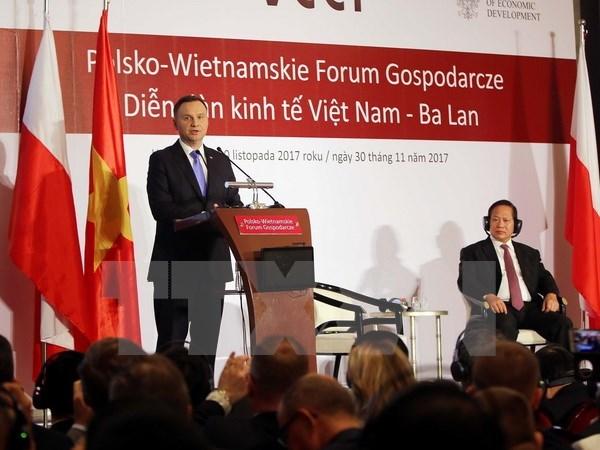 Ouverture du forum economique Vietnam - Pologne a Ho Chi Minh-Ville hinh anh 1