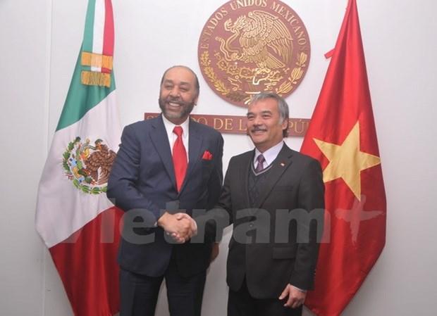 Le Congres du Mexique prend en haute consideration ses relations avec le Vietnam hinh anh 1