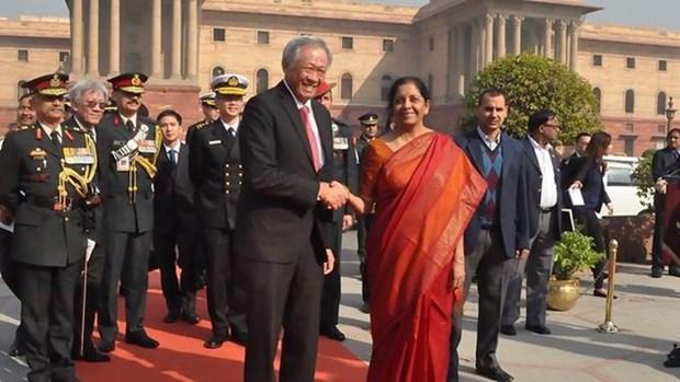 L'Inde et Singapour s'engagent a lutter contre le terrorisme hinh anh 1