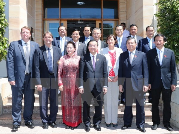 Activites de la presidente de l'AN Nguyen Thi Kim Ngan en Australie hinh anh 1