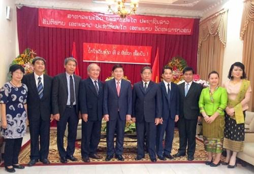 Un dirigeant de HCM-Ville felicite le Laos pour la Fete nationale hinh anh 1